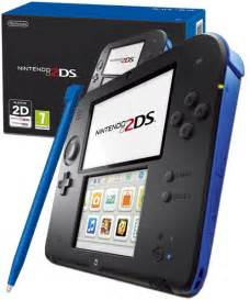 Kitchen Tea Games Ideas Nintendo 2ds Console Black And Blue