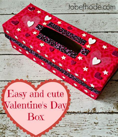 valentines day boxes easy valentines day box tobethode