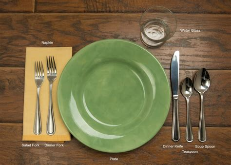 how to set the table table setting 101 mrfood com
