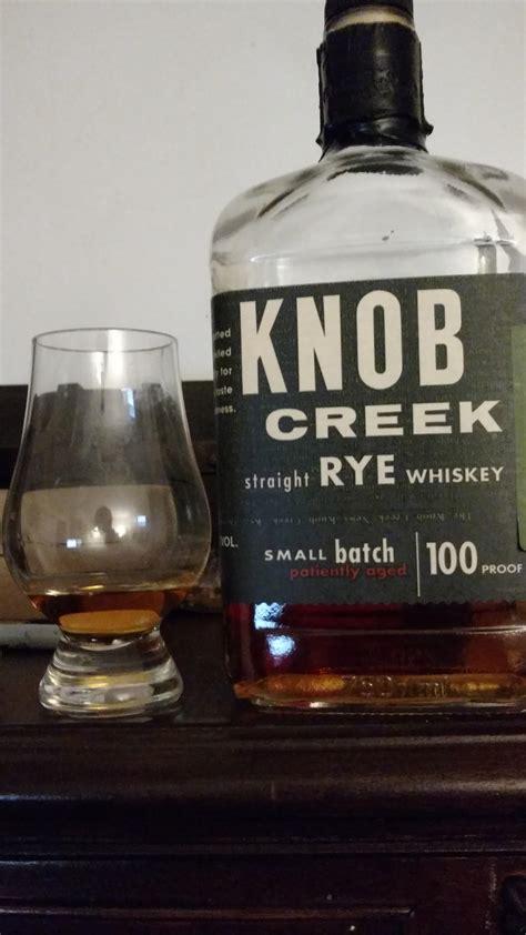 review 11 knob creek rye bourbon