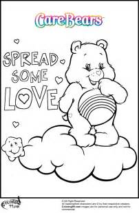 care bear coloring pages minister coloring
