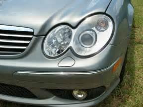 Mercedes Headlights Mercedes W203 S203 C Class 00 07 Amg Style Chrome