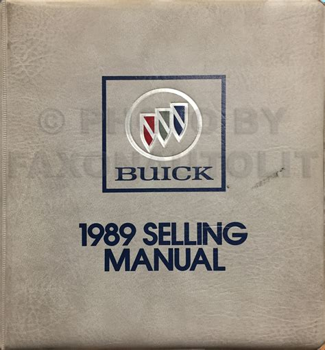 car repair manual download 1989 buick reatta spare parts catalogs 1989 buick riviera reatta repair shop manual original
