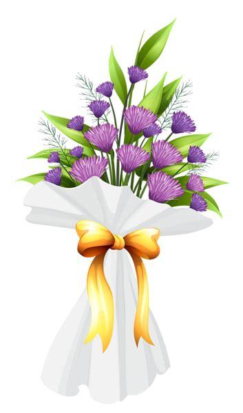 Bouquet Size M 2 purple flowers bouquet png clipart image gallery