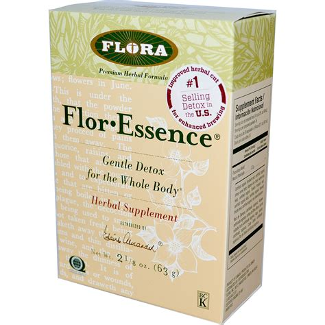 Total Tea Gentle Detox Directions by Flora Flor 183 Essence Gentle Detox For The Whole 2 1