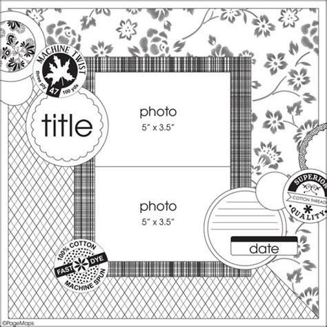 scrapbook layout sketches book 69 best scrapbooking sketches images on pinterest photo