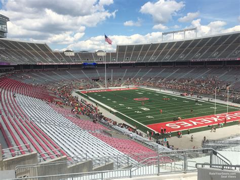 Ohio Stadium Student Section by Ohio Stadium Section 31b Rateyourseats