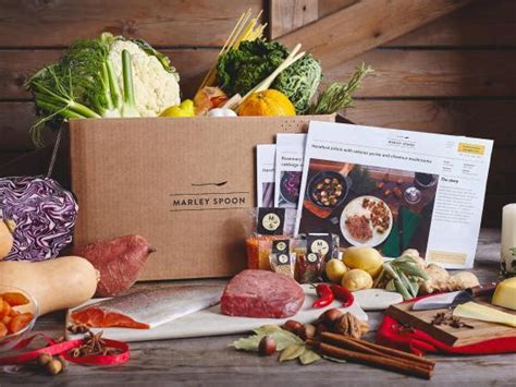 Marley Spoon Gift Card - 16 best food subscription gifts the independent