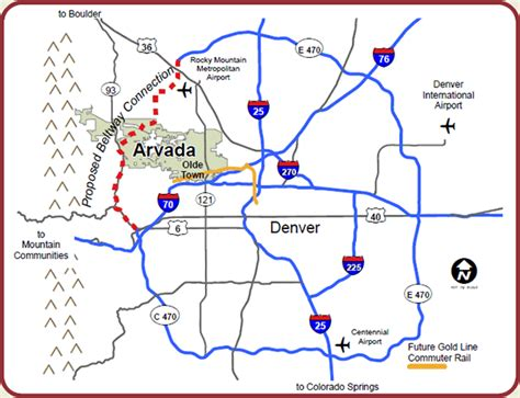 map of arvada arvada co arvada visitors center