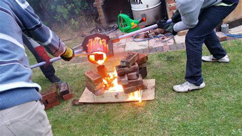 backyard metalcasting backyard metal casting outdoor goods