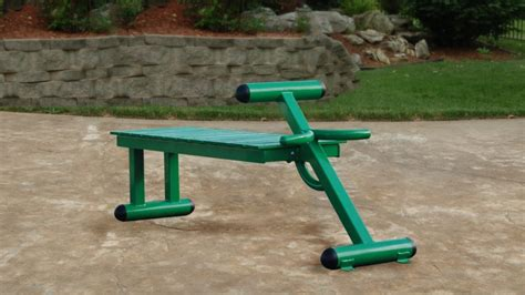 outdoor weight bench stamina outdoor fitness equipment strength equipment