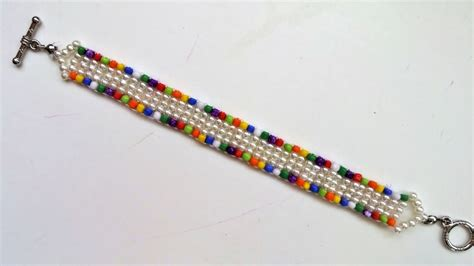 simple beading projects for beginners diy easy colored bracelet 10 minutes beading project for