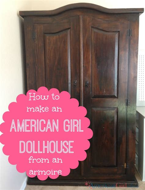 ag doll house how to make an american girl dollhouse american girl ideas