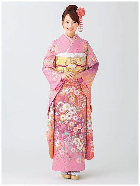 Kimono Pink 779 best kimono damas formal furisode honmogi images