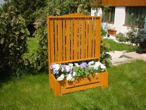 Trellis Planter Garden Screen by Planter Box With Privacy Screen Trellis Garden Ideas