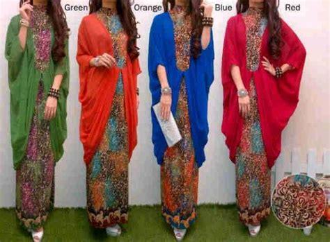 Kebaya Stelan Setelan Batik Baju Pesta Gamis Maxi Dress setelan shiffon juntai warna p740
