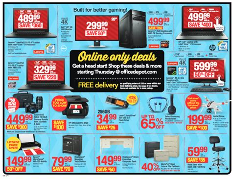 office depot coupons black friday office depot and office max black friday deals become a