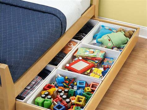 under bed organization clever storage solutions for every room in the home