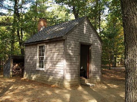 walden house thoreau house replica picture of walden pond concord
