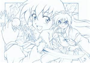 old inuyasha and kagome by lince on deviantart