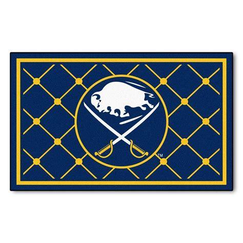 Area Rugs Buffalo Ny by Fanmats Buffalo Sabres 4 Ft X 6 Ft Area Rug 10511 The