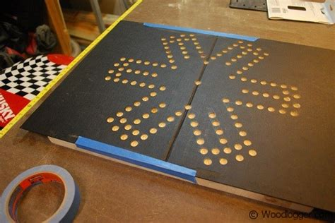 aggravation template marble board
