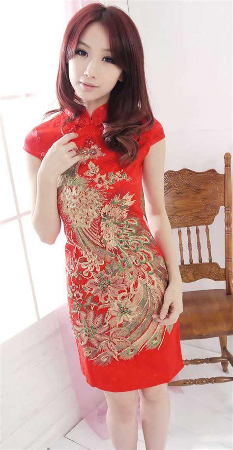 Baju Cheongsam Murah Katun baju wanita cheongsam modern 2014 model terbaru jual