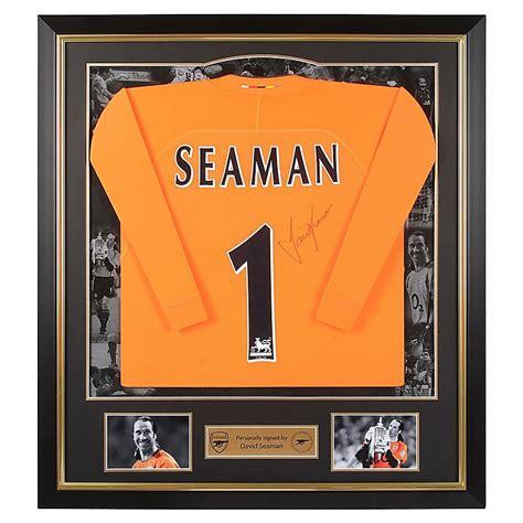 Kaos Arsenal Arsenal Signature 10 arsenal framed signed david seaman shirt legends