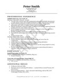 Insurance Resume Template by Insurance Underwriter Resume Exle