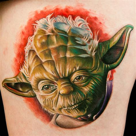 give a tattoo artist a clone trooper helmet and what do