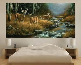 Outdoor Wall Mural Whitetail Deer Indoor Outdoor Vinyl Wall Mural Wall