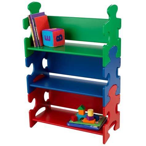 puzzle bookshelf primary kidkraft