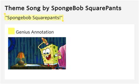 theme song spongebob quot spongebob squarepants quot theme song meaning