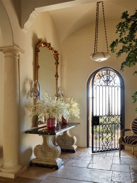 breathtaking mediterranean entry hall designs