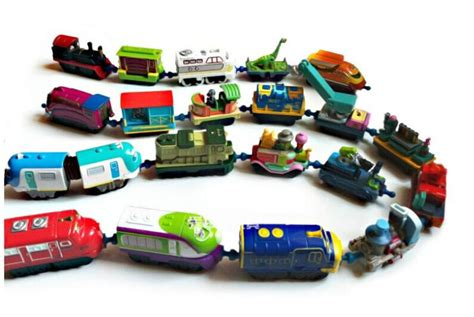 Kereta Classic Playset 10pcs original chuggington die cast diecast metal trains engine new random in diecasts