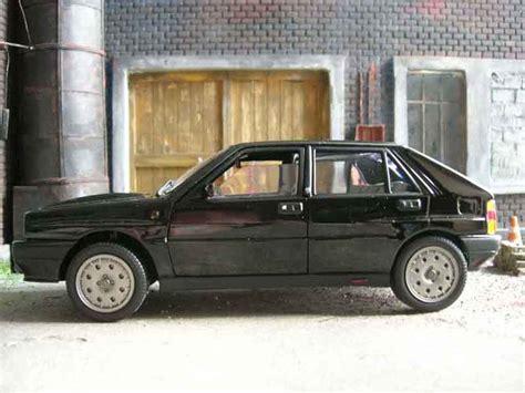 New Premium Diecast Lancia Delta Integrale Hf Miniatur Mobil Klasik lancia delta hf integrale 16s black sun diecast model