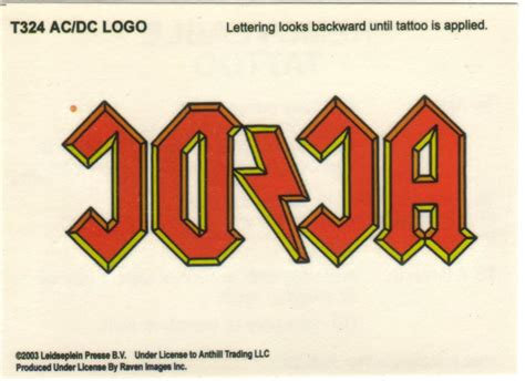 ac dc logo tattoo 301 moved permanently