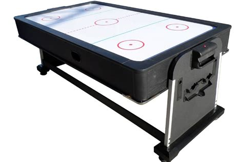 pool air hockey ping pong table foot club pro air hockey table by berner billiards w ping