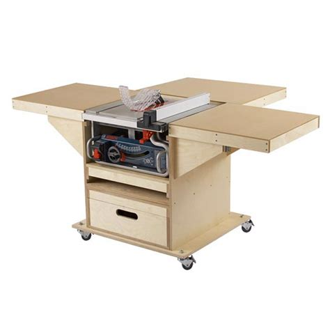 table saw workstation plans bing images