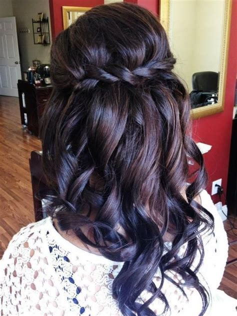 elegant hairstyles bump i really like this waterfall braid it s different because