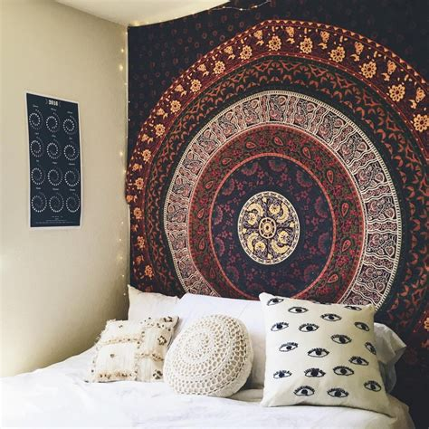 16 bedroom decorating idea with tapestries royal furnish 50 hippie room decorating ideas royal furnish