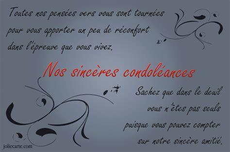 modele voeux de condoleances   Document Online