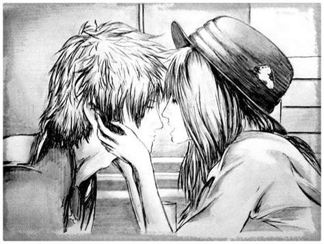 imagenes a lapiz de amor anime dibujos a lapiz de amor anime y emociones dibujos de