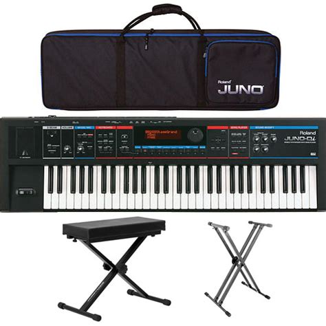 Keyboard Juno Di Second roland juno di 61 key mobile synthesizer value bundle b h photo