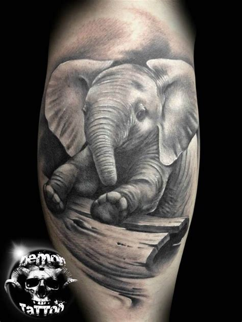 mom and baby elephant tattoo designs 50 baby elephant tattoos ideas