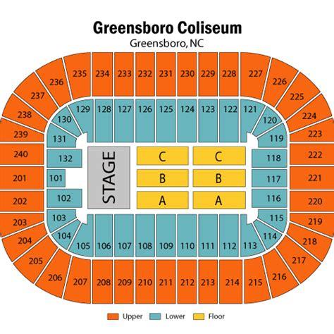 greensboro coliseum seating chart rows trans siberian orchestra december 02 tickets greensboro