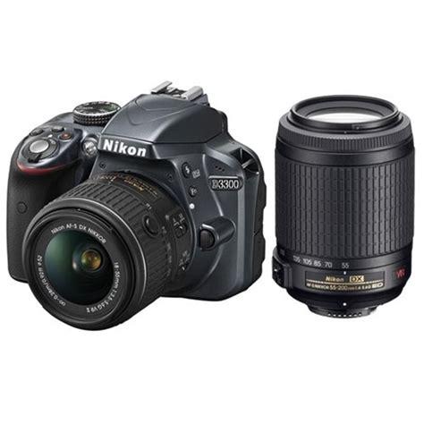 Nikon D3300 Vr Ii D3300 18 55mm Vr Ii 55 200mm Vr Kit Park Cameras