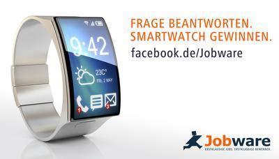 Jobware Anschreiben2go frage beantworten smartwatch gewinnen jobware service gmbh pressemitteilung