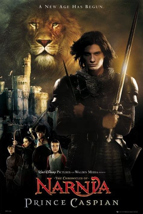 the chronicles from narnia prince caspian poster sold