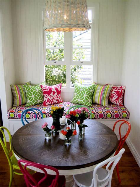 colourful modern interior design  vintage touch